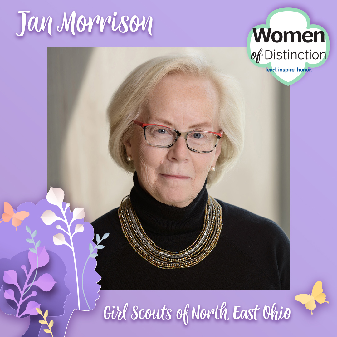 Woman of Distinction Award Jan Morrison